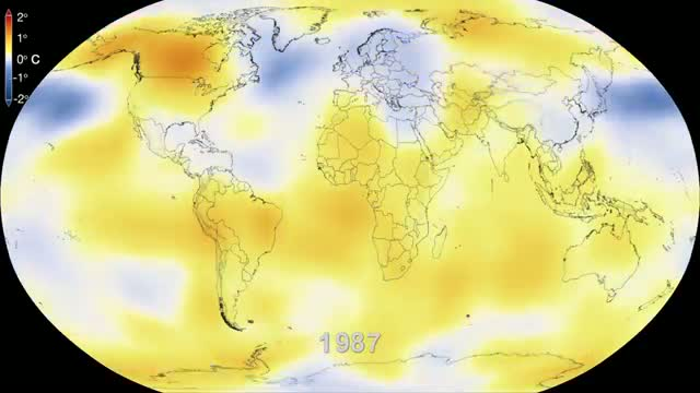 NASA - Six Decades of a Warming Earth