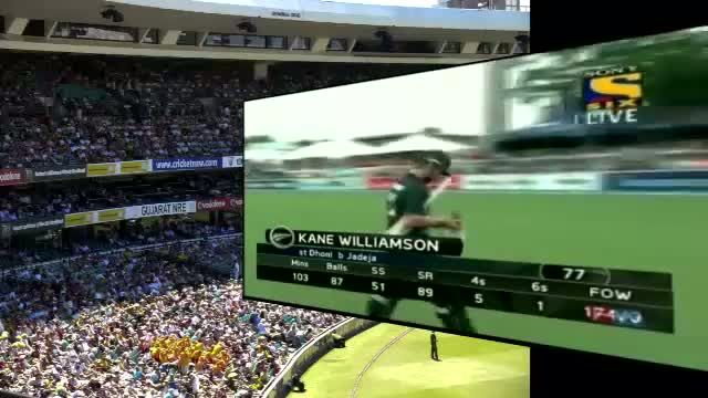 Fall of Wickets of New Zealand - India Vs New Zealand 2nd ODI - 22nd Jan 2014 at Hamilton