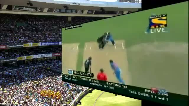 New Zealand Batting Highlights - India Vs New Zealand 2nd ODI Full Highlights 22nd Jan 2014 at Hamilton