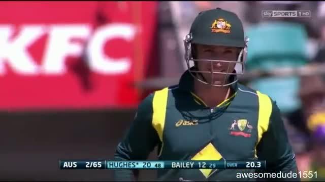 Ball hits stumps, but Bails don't fall off! - Australia vs Sri Lanka January 2013 HD Video