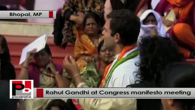 Rahul Gandhi: We can't call ourselves superpower if woman is not empowered