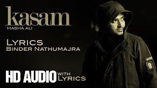 "Brand New Punjabi Song 2014 ""Kasam"" By Masha Ali"