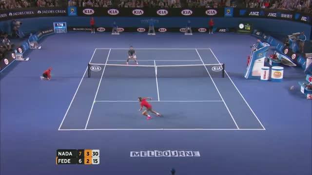Nadal v Federer highlights (Semifinal) - 2014 Australian Open Video