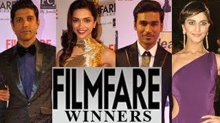 59th Idea Filmfare Awards 2013 WINNERS LIST Video