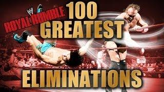 100 Greatest WWE Royal Rumble Eliminations