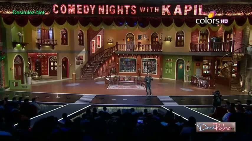 Comedy Nights With Kapil - Shekhar Suman, Adhyayan Suman, Ariana Ayam To Promote Their New Upcoming Movie Heartless - 26th January 2014 - Part 1/5