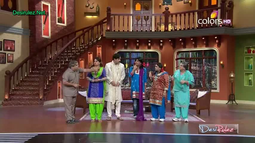 Comedy Nights With Kapil - Shekhar Suman, Adhyayan Suman, Ariana Ayam To Promote Their New Upcoming Movie Heartless - 26th January 2014 - Part 2/5