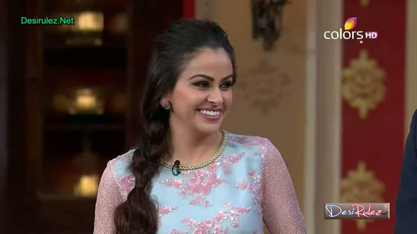 Comedy Nights With Kapil - Shekhar Suman, Adhyayan Suman, Ariana Ayam To Promote Their New Upcoming Movie Heartless - 26th January 2014 - Part 3/5