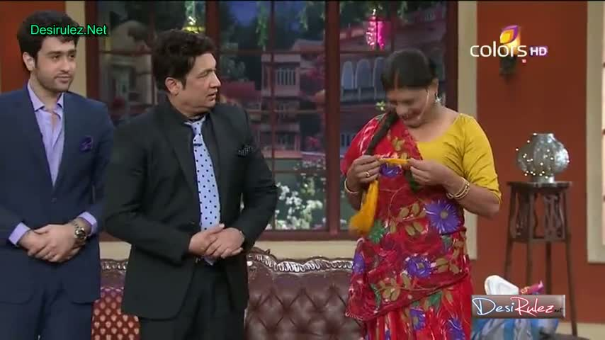Comedy Nights With Kapil - Shekhar Suman, Adhyayan Suman, Ariana Ayam To Promote Their New Upcoming Movie Heartless - 26th January 2014 - Part 5/5