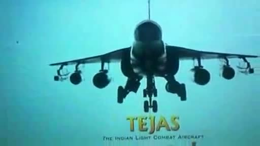 Indigenous Tejas light fighter tableau at 65th Republic Day parade 2014 Video