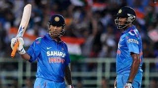 India Batting - India vs New Zealand 2014 3rd ODI Highlights - 25 January 2014 Video