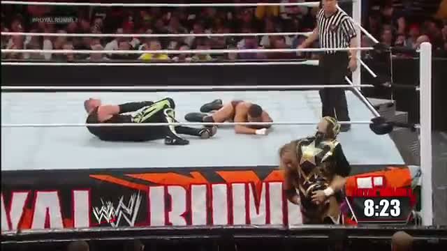 Cody Rhodes & Goldust vs. The New Age Outlaws - WWE Tag Team Championship Match: WWE Royal Rumble Kickof