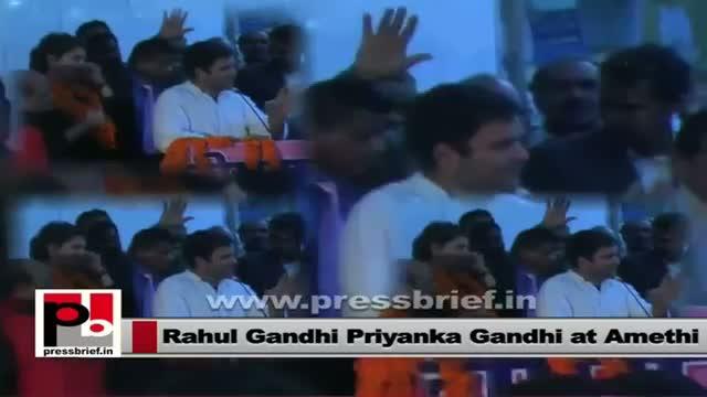 Rahul Gandhi , Priyanka Gandhi : Leaders with a purpose to serve