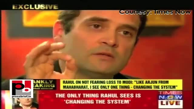 Rahul Gandhi's first ever interview on Times Now, Part 01