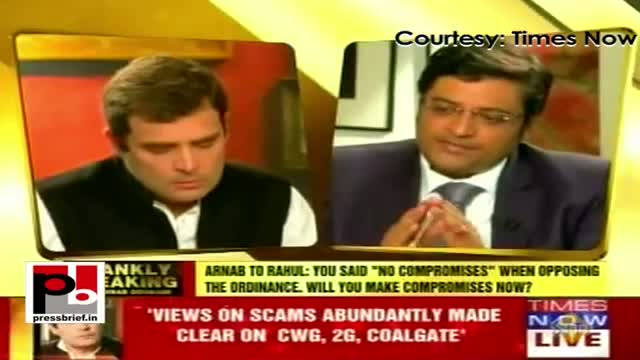 Rahul Gandhi's first ever interview on Times Now, Part 03