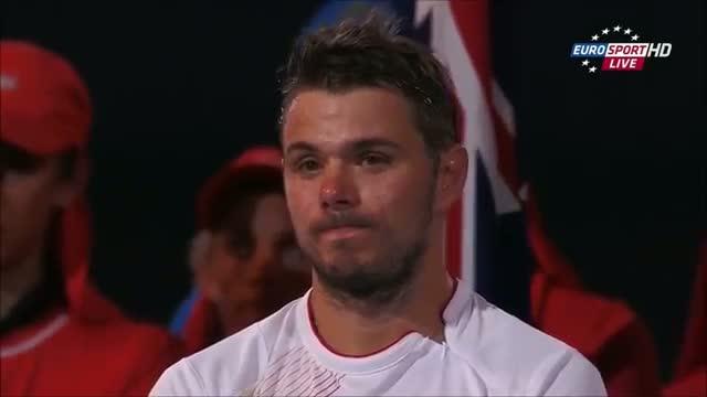 Stanislas Wawrinka Vs Rafael Nadal Australian Open 2014 HIGHLIGHTS Final - PART 2