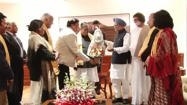 PM meets Jain Community Delegation