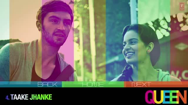 Queen Movie Songs Jukebox (Full Album) - Amit Trivedi - Kangana Ranaut & Raj Kumar Rao