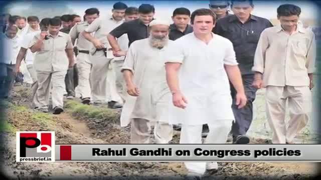 Rahul Gandhi: Congress works for poor, NDA remarks 'wastage of money'