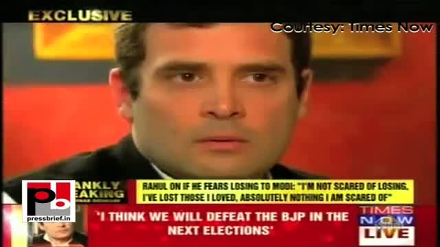 Rahul Gandhi: I see is that the system in this country needs to change