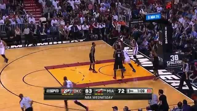 NBA: Kevin Durant and LeBron James Combine for 14 Points in 2 Minutes