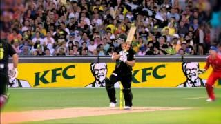 Cameron White Highlights of 58 Runs Off 45 Balls - Aus v Eng 2nd T20 2014 MCG - 31 Jan 2014