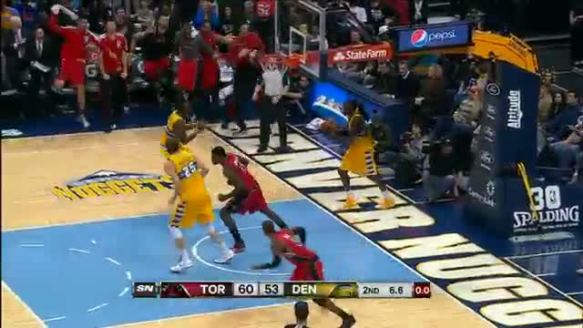 NBA: Terrence Ross' MONSTER Dunk on Kenneth Faried