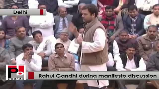 Rahul Gandhi: We empowered you through RTI