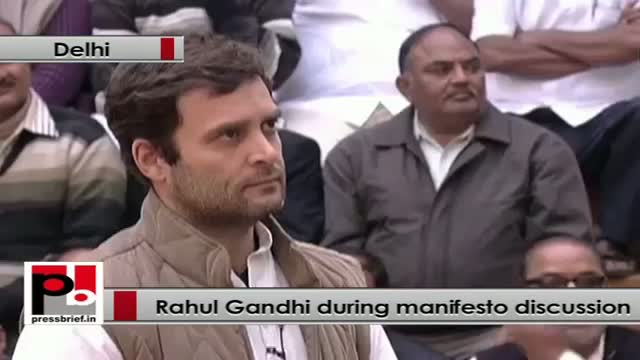 Rahul Gandhi: RTI and MNREGA will uplift structure of our system