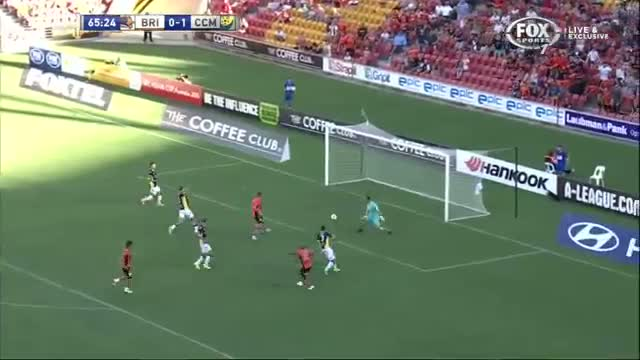 A-League 2014 - Brisbane Roar v CCM - Intro & Goals in Roar's 2-1 Win 2 February 2014 HD Video