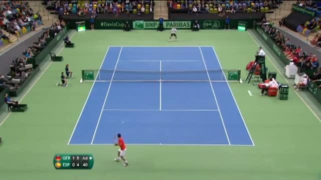 Highlights: Philipp Kohlschreiber (GER) v Roberto Bautista Agut (ESP)