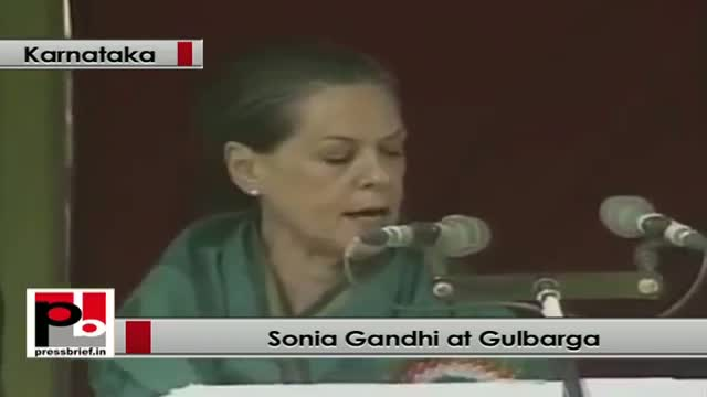 Sonia Gandhi: UPA passed several Bills to ensure their safety and security for women