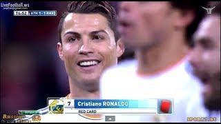 Cristiano Ronaldo Red Card vs Athletic Bilbao - Real Madrid vs Athletic Bilbao 1-1 (FULL) HD Video