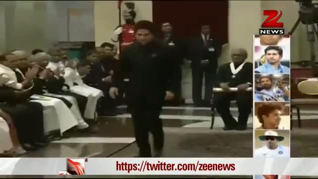 Sachin Tendulkar, Prof CNR Rao receive Bharat Ratna Video