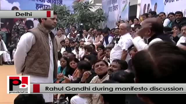 Rahul Gandhi to labour sector: We have to put you in assemblies