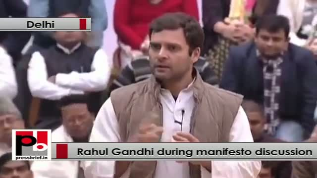 Rahul Gandhi: Every political group is a closed group, needed to open