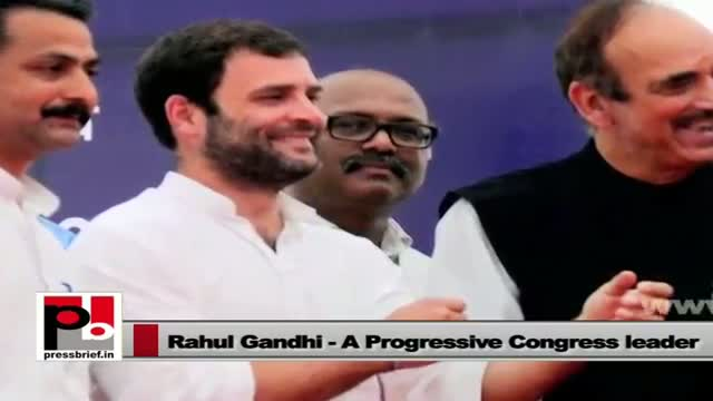 "Rahul Gandhi: ""We need to empower youth, poor and women"""