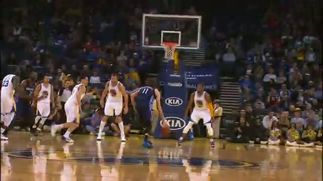 NBA: Josh McRoberts Throws the Hammer Down on Bogut