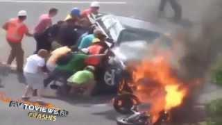 Motorcycles Crashes Compilation
