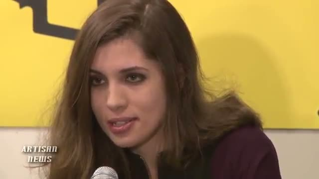 PUSSY RIOT ADDRESSES NEW YORK ABOUT RUSSIAN HUMAN RIGHTS ABUSES VIDEO