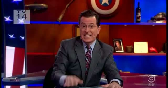 The Colbert Report - Pussy Riot Video