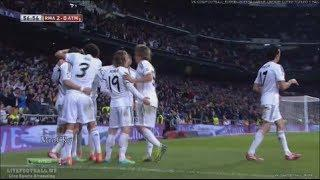 Real Madrid vs Atlético Madrid 3-0 All Goals & Highlights 02/05/2014 Copa Del Rey Video