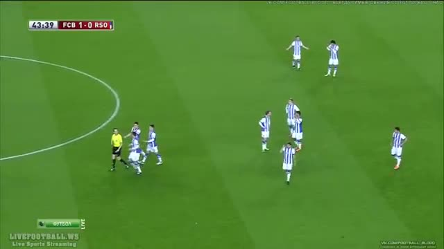 Barcelona vs Real Sociedad 2-0 All Goals - Sergio Busquets Goal vs Real Sociedad HD Video