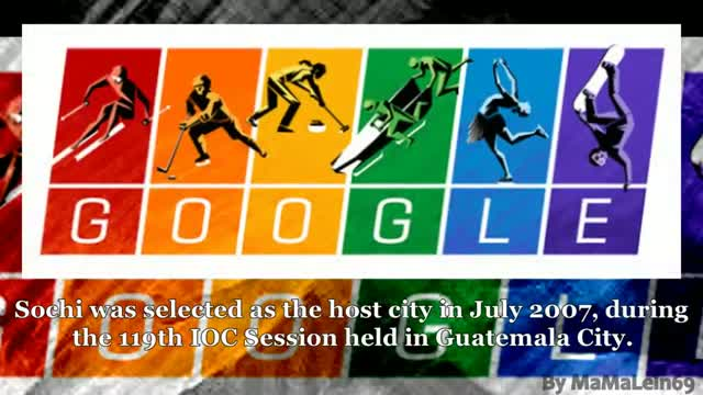 Winter Olympics 2014: Google Doodle marks the Sochi Games