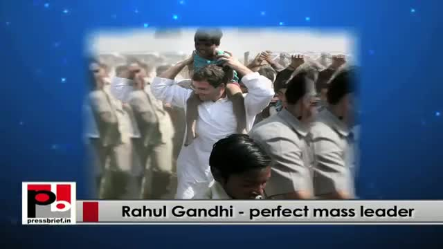 Rahul Gandhi : Every poor has the right to live and earn