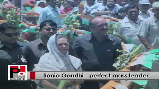 Sonia Gandhi- A leader who never backs out from her responsibility