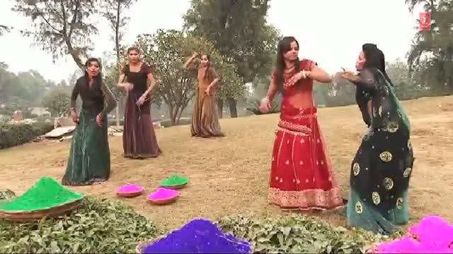 "Bhojpuri Holi Video Song 2014 ""Holiya Mein Dubar Bhaile Piyau"" - Rang Daalin Jija Holi Mein"