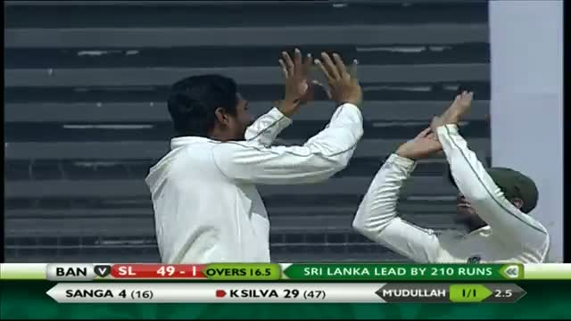 Bangladesh vs Sri Lanka: 2nd Test, Day 4 Wickets Highlights (Ban v SL Test Series 2014) Video