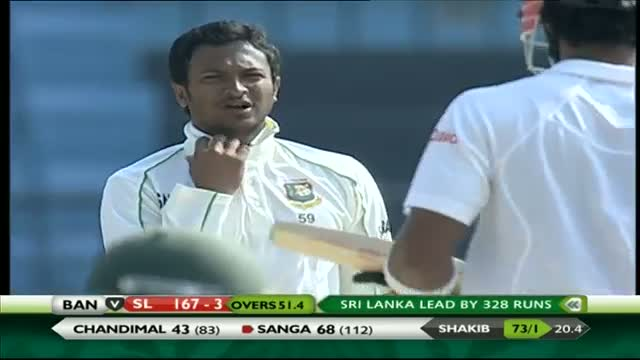 Bangladesh vs Sri Lanka: 2nd Test, Day 4 Short Highlights Reel (Ban v SL Test Series 2013-14) Video