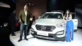 Hyundai Santa Fe 2014 at AutoExpo 2014 New Delhi Video